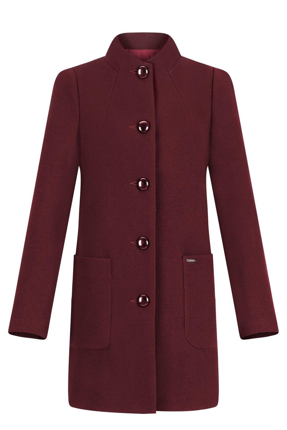 Modny płaszcz zimowy typu parka z kolekcji Eight2Nine. Efektowny płaszcz z futrem po stronie wewnętrznej na całej długości. Doskonała imitacja naturalnego futra.