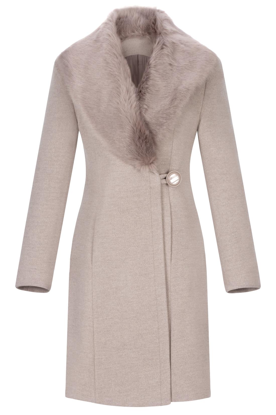 binin Box® Damski płaszcz zimowy płaszcz kurtka puchowa pikowana kurtka kurtka puchowa z kapturem sierść parka Lang BDSY2Y. Mäntel. Zamknięcie: zamek błyskawiczny Nasz model ma rozmiar korpusu: cm (82/66/98); nasza modla nosi rozmiar: m.